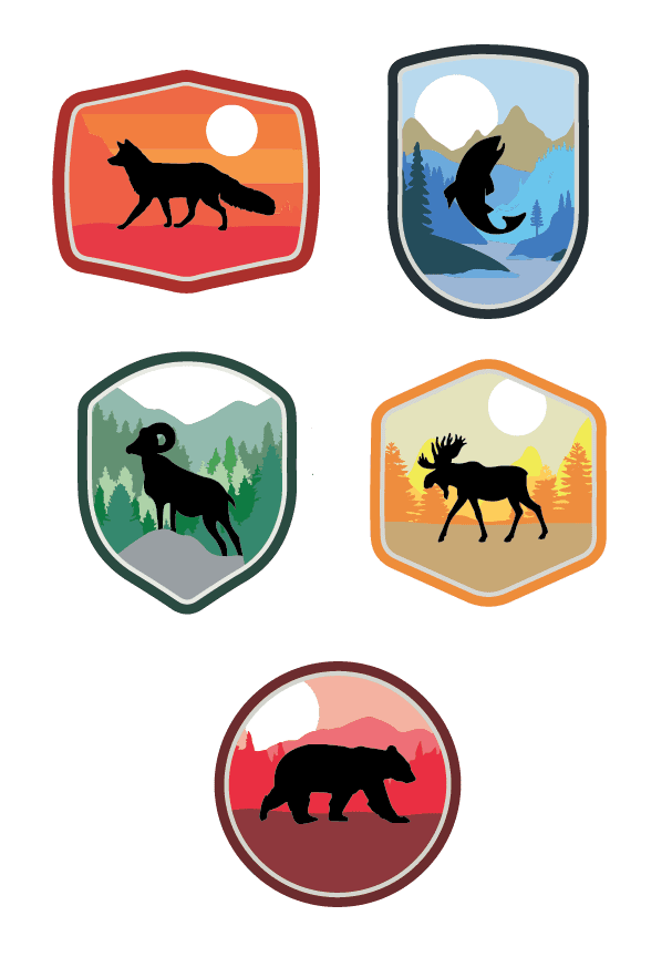 Use stickers and badges to gamify your employee rewards program!